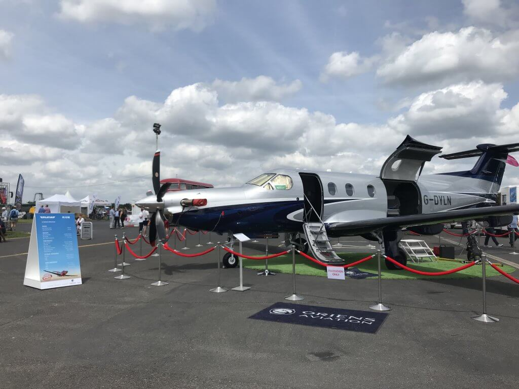 Oriens Aviation at AeroExpo