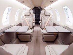 Jetfly's PC-24 interior