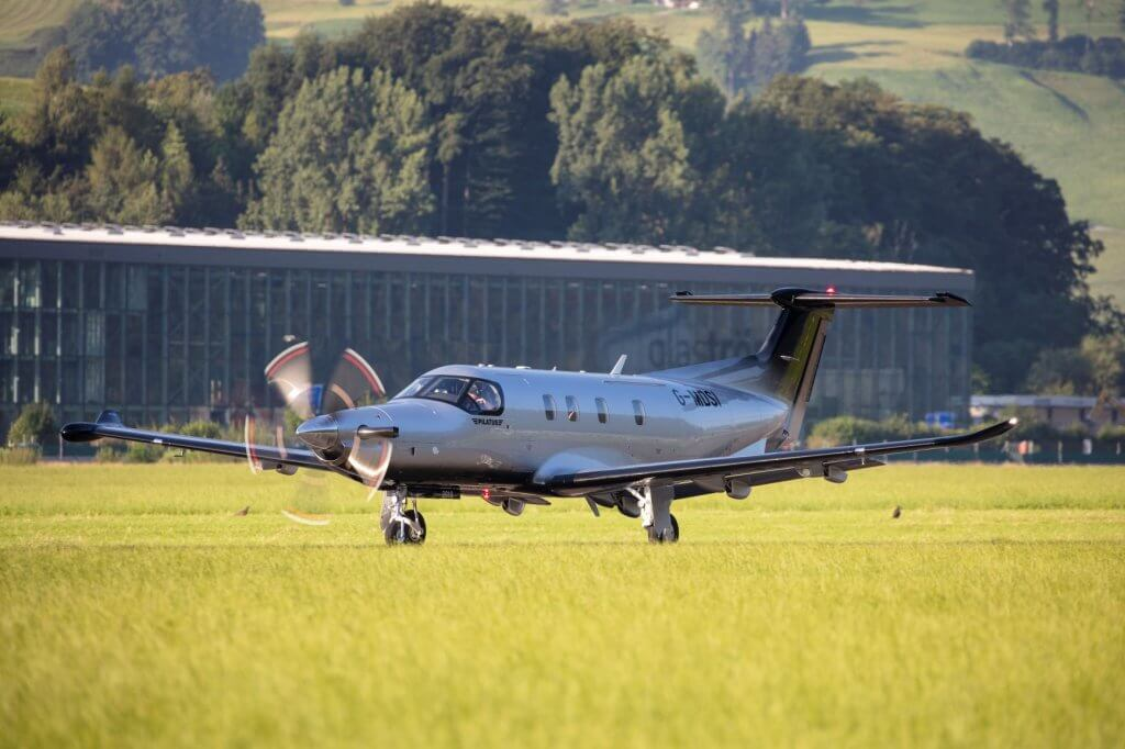 Oriens Aviation places first enhanced Pilatus PC-12 NGX in the UK